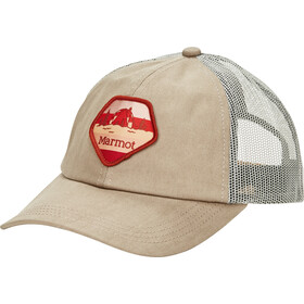 Marmot Kira Trucker Hat warm sand/desert khaki